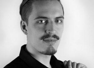 Paul Moragiannis: Teil des Improtheater Ensemble