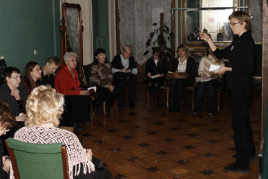 Impro-Referenzen: Kurs in St. Petersburg