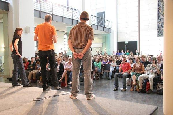 Impro-Referenzen: Auftakt beim FÖJ in Berlin