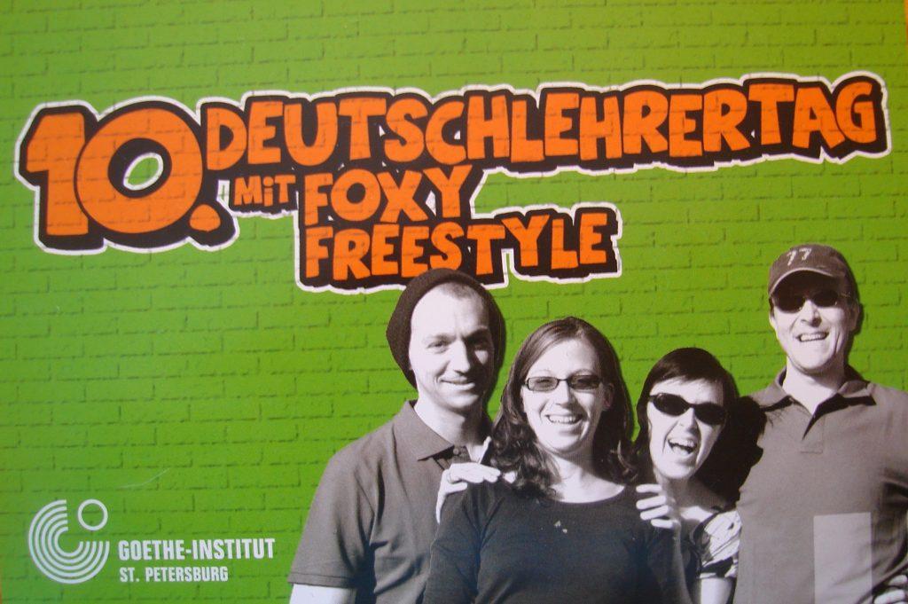 Impro-Referenzen: Deutschlehrertag mit Foxy Freestyle
